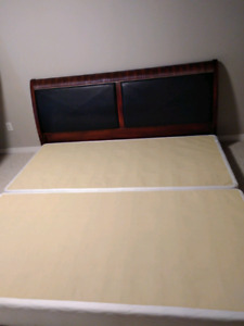 King size headboard- delivery available