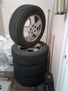 New winter tires-- Mud and snow