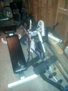 Weights for sale// Home gym  Kitchener / Waterloo Kitchener Area image 1