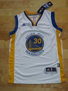 Steph Curry Swingman Warriors Stitched NBA Jersey  Size Large