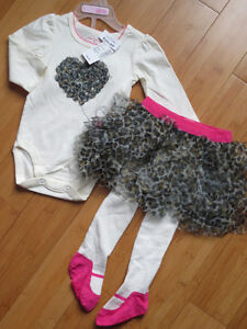 Girls Fall/Winter Outfits - 6 Mths London Ontario image 1