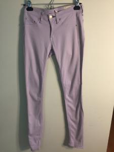 J Brand Lavender Skinny Leg Jeggings Size 24, Great Condition