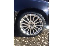 "Alloy wheels 18"" Ford Focus rs replicas"