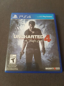 Trading: Uncharted 4: A Thief's End PS4