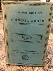 FLUSH FIRST EDITION VIRGINIA WOLF