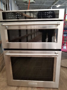 Kitchen Aid KOCE500ESS Microwave Wall & Oven 30""