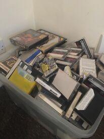 Huge lot of spectrum cassettes