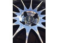 "Renault 17"" fox alloy wheels"