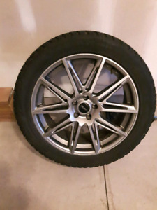20 inch winter tires and rims for sale