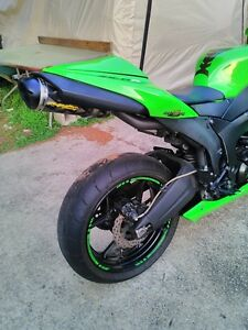 2007 KAWASAKI ZX6R TWO BROTHERS EXHAUST MONSTER ENERGY Windsor Region Ontario image 2