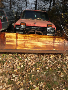 Myers 7ft plow and harness. 600 dollars.