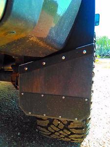 Universal Black Mud Flaps- powder coated  marine aluminum Revelstoke British Columbia image 2