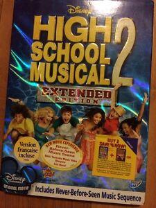 High School Musical DVDS