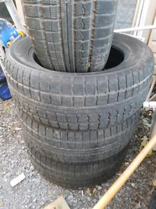 255-55-R18 certified winter tires