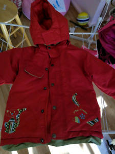 Kids winter coat size 3