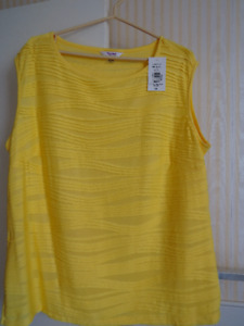 Womens top ,TanJay new with tags 2X