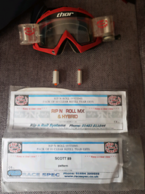 THOR Rip & Roll Motorcross Goggles