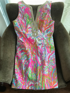 WOMENS SZ 14 REG 400$ LILLY PULITZER DRESS AVAILABLE
