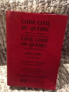 Code civil du qc