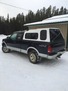 2000 F150 truck with canopy