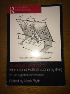 Routledge Handbook of International Political Economy ONLY $15