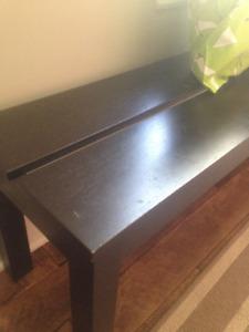 Wanted: Ikea Bjursta black/brown bench