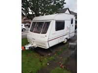Bailey 350/2 2 berth caravan with accessories dry and clean very good condition