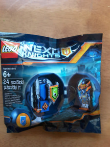 Brand new unopened cello bag Lego Nexo Knights Armour Pod