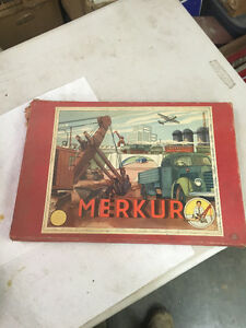 Vintage Merkur Construction Set like Meccano Regina Regina Area image 1