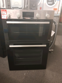 Brand New Bosch MBS133BR0B Electric Built In Double Oven - Stainless