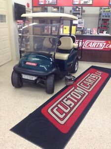 2012 CLUB CAR PRECEDENT GOLF CART ELECTRIC 48VOLT GREEN