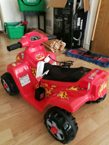 Little Tikes cozy coupe and truck and Disney Cars 2 electric car