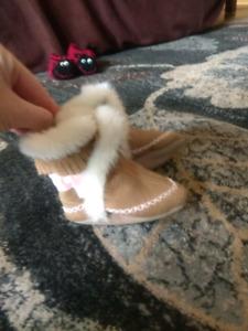 0-6 months girls baby moccasins