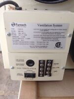 Fantech Heat recovery ventilator (HRV) SHR1504 with controllers