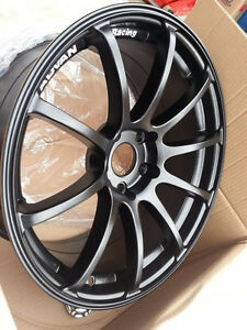 Advan RS style winter alloy clear all STI brembo to 2017