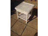 Vintage cane table in excellent condition