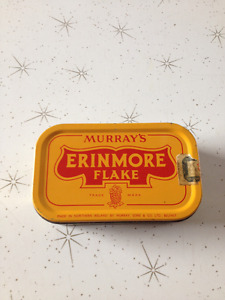 Vintage Murray's Erinmore Flake Can