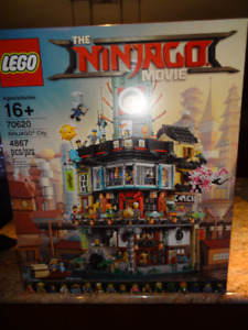 Lego Ninjago movie set #70620 has 4867 pcs,