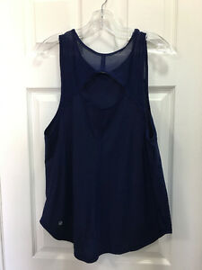 lululemon Tanks for sale - Size 12 Like New - Black and Blue