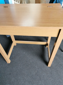 Study table with underneath compartment