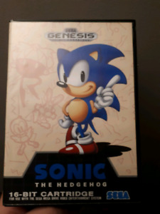 Sonic The Hedgehog Sega Genesis CIB