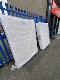 2 big brand new 1200 pocket sprung pillow top Mattresses £225 each