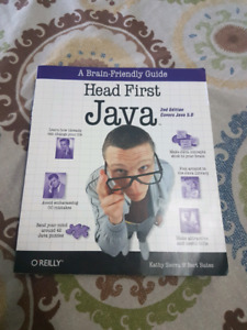 Head First Java by O'Reilly