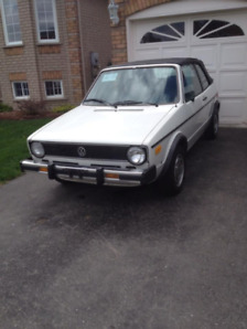 1985 VW Rabbit Convertible for Sale