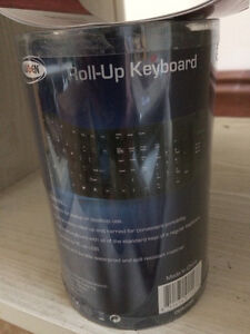 Roll up Computer USB Keyboard