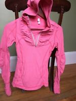WOMENS LULULEMON Hooded top shirt pullover