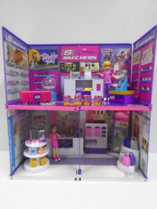 Polly Pocket MiWorld Shopping Mall Doll House
