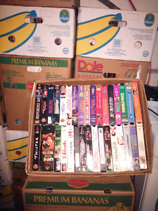 LOTS VHS MOVIES FOR SALE.