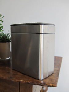 SIMPLE HUMAN Profile Open Bin Recycling / Trash Can
