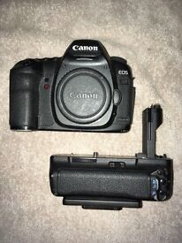 CANON 5D MARK II + BATTERY GRIP